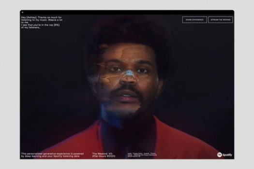 Alone with Me: Virtual Intimate Experience Spotify & The Weeknd