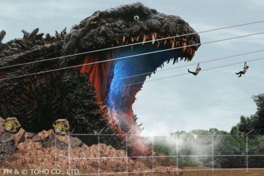 Selain Gundam, Jepang Juga Buat Patung Godzilla Raksasa