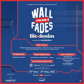 Waltz Dialog, Kenny Gabriel, hingga Jangar Meramaikan Wall Online Fades 2021